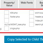 【更新】Child Theme Configuratorの使い方