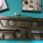 【更新】PS4の熱の対策 PS4スタンドを使ってみた