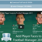 【更新】Football Manager のフェイスパック【手順】