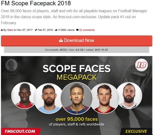 FM facepack