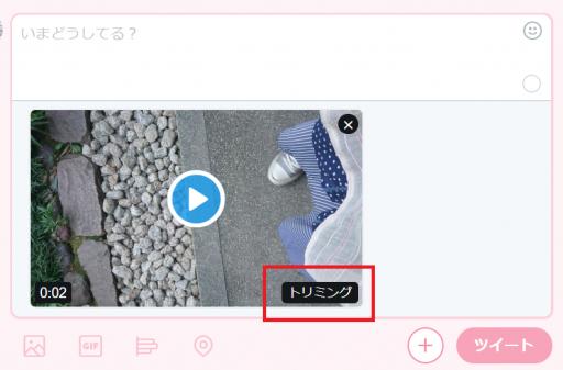 Twitterの動画投稿