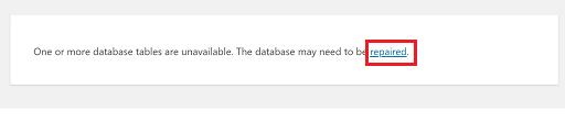 データベース エラー