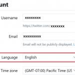 Twitter を日本語表示にする手順【更新】